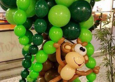 Addobbi di palloncini, I Mattacchioni nella giungla