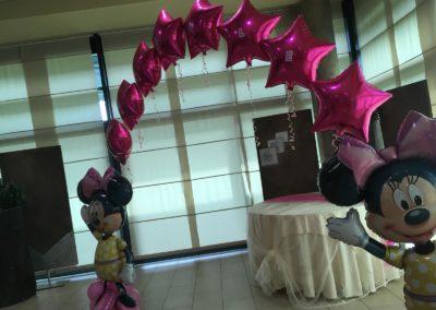 Addobbi di palloncini, I Mattacchioni e Minnie